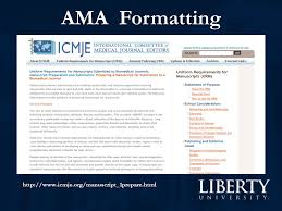 ama formatting style manuals are written either for editors or  4 ama formatting icmje org manuscript 1prepare html