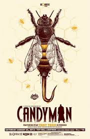 Get tickets for #candyman on the official movie site. Awesome Art We Ve Found Around The Net The Birds Candyman Godzilla Prince Movie Posters Horror Movie Art Horror Posters