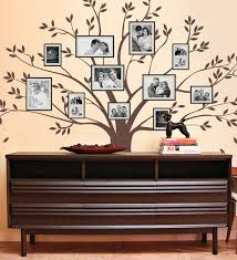 this functional family tree wall decal
