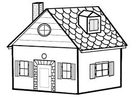 Maison 5 B Timents Et Architecture Coloriages Imprimer Coloriage Dessin MaisonlL