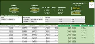 Excel Payment Tracker Template Invoice Tracker Template For Small Business Free Spreadsheet