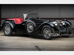 Der wohlhabende kunde konnte damals ein chassis mit technik aus molsheim kaufen oder bei einer karosseriebaufirma einkleiden lassen. 1937 Bugatti Type 57sc Tourer By Corsica Amelia Island 2019 Rm Sotheby S