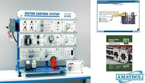 electric motor control learning system tech labs Simple Motor Control Wiring Diagrams amatrol advanced manufacturing learning systems electric motor control