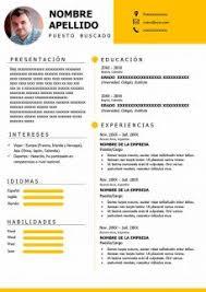 Curriculo Modelos 50 Modelos De Curriculum Vitae Para Descargar Gratis En Word
