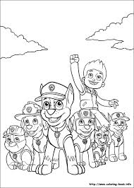 Small Picture Paw Patrol coloring picture Coloring sheets Pinterest Paw