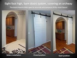 barn doors installation by shapira builders