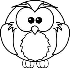 Cute Baby Owl Coloring Pages Free