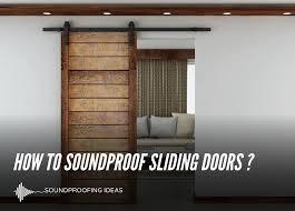 soundproofing sliding doors dealing