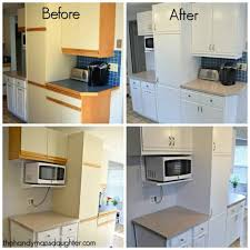 these 80 s kitchen cabinets with oak trim are the worst give them an update with