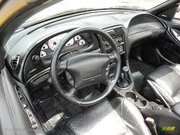 Black Interior 1998 Ford Mustang SVT Cobra Convertible Photo ...