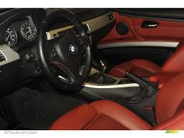 BMW 3 Series 2007 bmw 335i interior : Coral Red/Black Interior 2007 BMW 3 Series 335i Coupe Photo ...