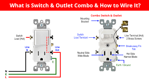 how to wire combo switch & outlet Outlet Wiring Design Wiring 220 Volt Outlet