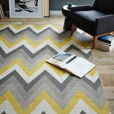 interior exciting yellow and gray chevron rug 78 in interior designing home ideas with yellow