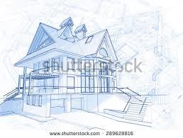 architecture design blueprint. Architecture Design: Blueprint House - Vector Illustration Design R