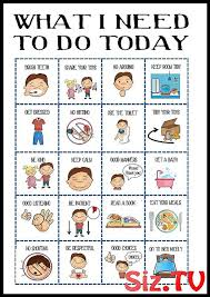 List Of Daily Planner For Kids Routine Chart Images And