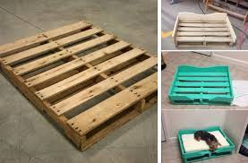 dog bed ideas.  Dog DIY Pallet Dog Bed For Ideas T