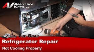 refrigerator repair diagnostic not cooling properly electrolux frigidaire you