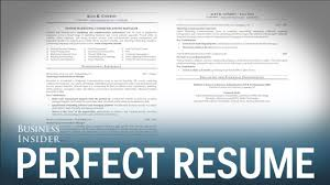 How To Make A Perfect Resume Step By Step Magnificent 48 Steps Towards Creating The Perfect Mba Resume How To Make A Step