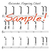 Mask Off Recorder Finger Chart 56 Matter Of Fact Recorder Finger Placement Chart For Kids