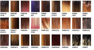 Kanekalon Braiding Hair Color Chart Zury Color Charts