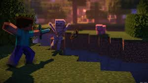 4K remake of the 2012 classic Minecraft ...