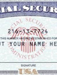 Fake Social - Security Template Number Psd Ssn License Drivers