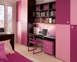 sweet pinky girl room design study desk girls