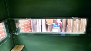 plexiglass windows exhibition spot plexiglass deer blind windows for