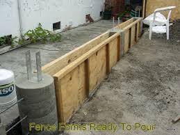 concrete fence post forms. Exellent Fence Enter Image Description Here To Concrete Fence Post Forms N