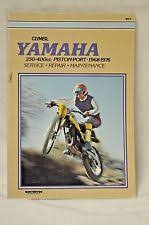 yamaha dt250 manual yamaha clymer service repair manual 1968 1976 dt1 dt2 dt3 dt250 rt1 rt2 m415