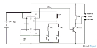 motor tester circuit diagram using ic 555 circuit diagram and working explanation servo motor