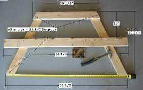 free picnic table plans how to build