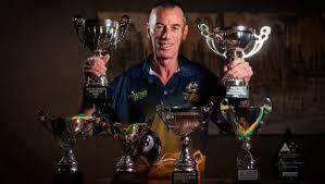 Tasmanian Wayne Stubbs on top of the world, mastering eight-ball ...