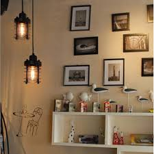 Industrial Cage Light Fixture Us 19 29 35 Off Loft Vintage Pendant Light Wrought Iron Lights Ac 110 220v E27 Industrial Cage Lamp Lighting Fixture Lamp Vintage For Home Decor In
