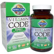 garden of life vitamin code family 120 veggie caps