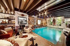 Indoor swimming pool design Ceiling Piscina26 Best 46 Indoor Swimming Pool Design Ideas For Your Home Impressive Interior Design Best 46 Indoor Swimming Pool Design Ideas For Your Home