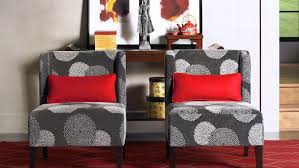 livingroom red accent chairs for living room under canada chair with ottoman arms leather