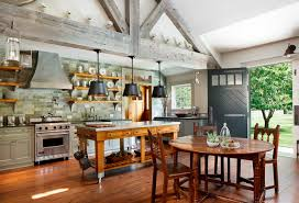 farm style kitchen island. custom kitchen cabinets, farmhouse style, millwork, woodwork, boston, ma farm style island