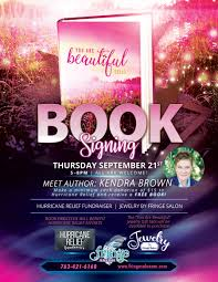 book signing flyer you are beautiful selah book signing and meet the author event