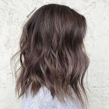 Subtle Blue Highlights Mushroom Brown Hair Is Trending For 2018 Southern Living