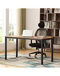 Office desk home Simple Save On Auxley 742271416875 Computer 55 Inch Modern Simple Writing Desk For Home Double Deck Wood Amazoncom Home Office Desks Amazoncom