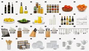 kitchen items for new home  design decoration