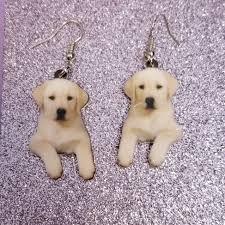 Dog Design Jewelry Puppy Yellow Labrador Golden Retriever Dog Design 1