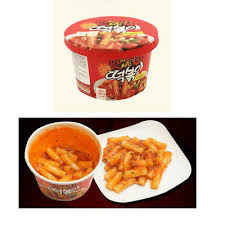 New Spicy Korean Stir Fried Rice Cake Instant Cup Tteokbokki Korea