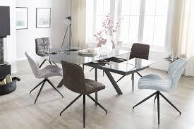 Glas Tische Ovaler Glastisch Design Oval Designer Ovaler