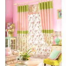 Schön Dekorativ Leinen Blumen Grün Rosa Schlafzimmer Ausgefallene