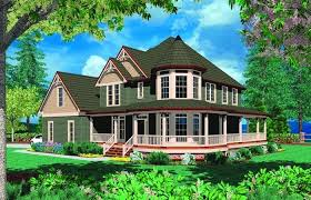 brick house plans with porches lovely dream house with a wrap around