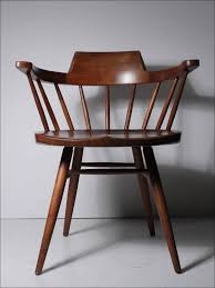 oak captains dining chairs