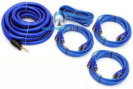 pkg stinger spc505 digital 5 farad capacitor 8000w 0 gauge pkg stinger spc505 digital 5 farad capacitor 8000w 0 gauge amplifier wire kit 3