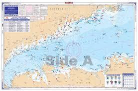 Central Long Island Sound Coastal Fishing Chart 26f